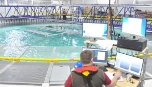 5 FloWave Project Engineer tests Exeter Farms tidal turbine array
