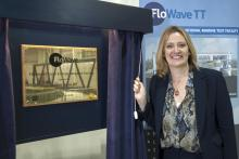Minister Amber Rudd officially opens FloWave