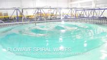 FloWave spiral waves video screenshot