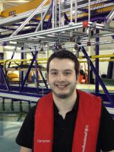 Martyn Lennon in the FloWave facility